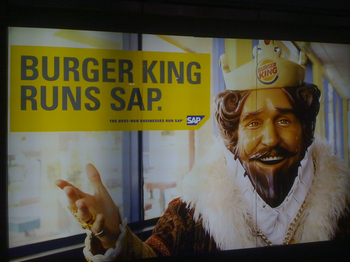 SAP King ad